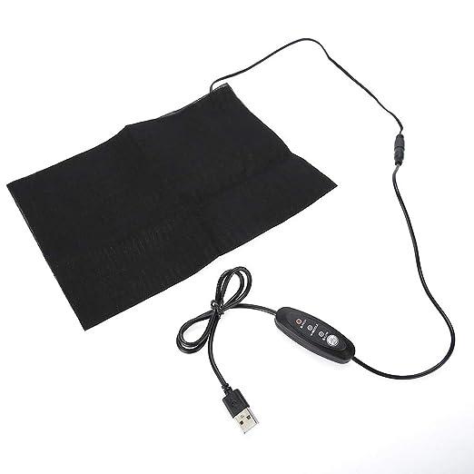 Calentador eléctrico Carga por USB Recargable Calentador ...