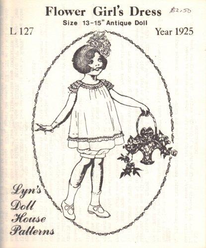 Lyn's Doll House Patterns (Flower Girl's Dress, Size 13-15
