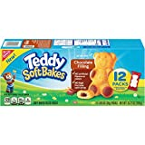 Teddy Soft Bakes Chocolate Filled Baked Snacks, 12 Count Box, 12.72 Ounce