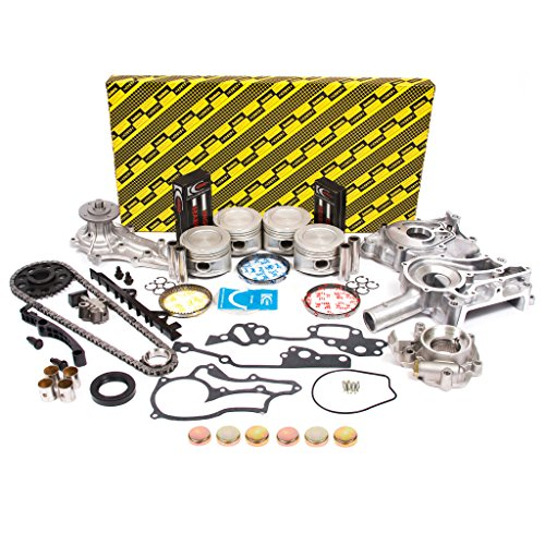 (Evergreen OK2000/2/0/0 85-95 Toyota 2.4 SOHC 8V 22R 22RE 22REC Enigne Rebuild Kit)