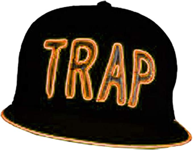 Electric Styles Bombilla Gorro, diseño: Trap, Orange - Orange ...