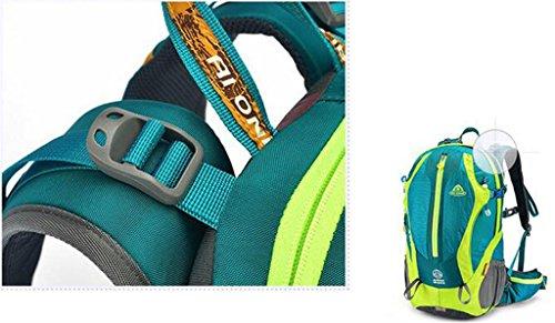 equitazione all'aperto spalla zaino borsa uomini e donne dello zaino di alpinismo zaino trekking multifunzione ( colore : Rosso , dimensioni : 35L )