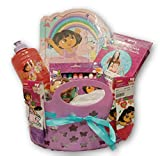 Best Dora the Explorer Birthday Gifts For 3 Year Old Girls - Dora the Explorer Disney Junior Gift Basket Review