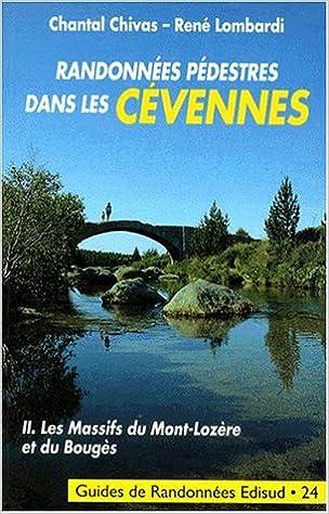 Livres gratuits Les Massifs du mont Lozère et du Bouges pdf, epub ebook