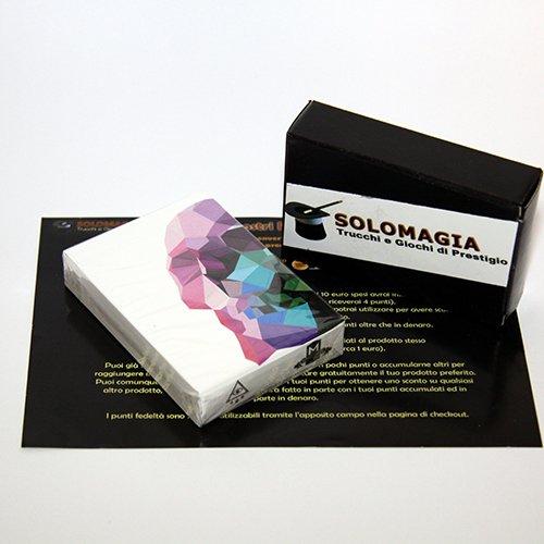 SOLOMAGIA Mazzo di carte Memento Mori Playing Cards by Murphy's Magic - con omaggio esclusivo Murphy' s Magic Supplies Inc. Supplies