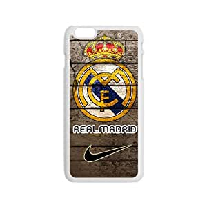 Real Madrid Fashion Comstom Plastic case cover For Iphone 6