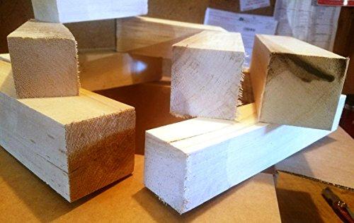 Large Box of Scrap Basswood Carving Blocks