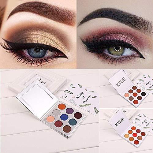 KOKOBUY EyeShadow 9 Colors Women Fashion Makeup Beauty Shimmer Matte Eye Shadow Palette Christmas version
