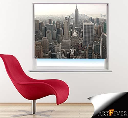 Eiffel Tower Paris printed photo picture window roller blind made to measure