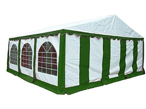 ShelterLogic Enclosure Kit with Windows, Green/White, 20 x 20 ft. (Party Tent Cover and Frame Sold Separately)