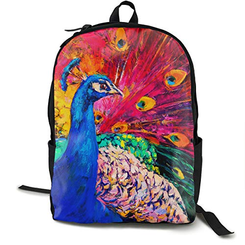 - KKLEIS9 Beautiful Peacock to Show Off Its Tail Fashion Laptop Backpack,Business Travel Anti Theft Slim Durable Laptops Backpack Good for Travel and Hiking