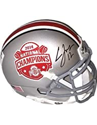 Cardale Jones Autographed Hand Signed Ohio State Buckeyes 2014 National Championship Logo Authentic