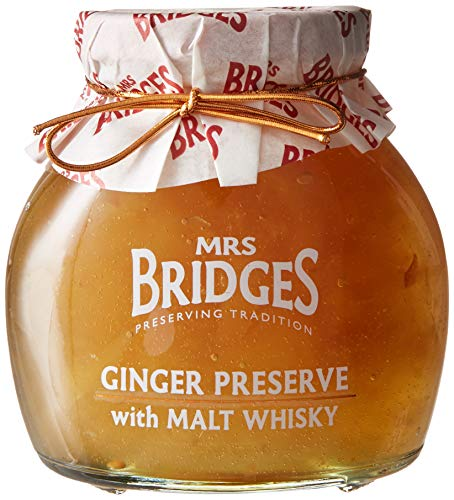 - Mrs Bridges Ginger Preserve with Malt Whisky, 12 Ounce