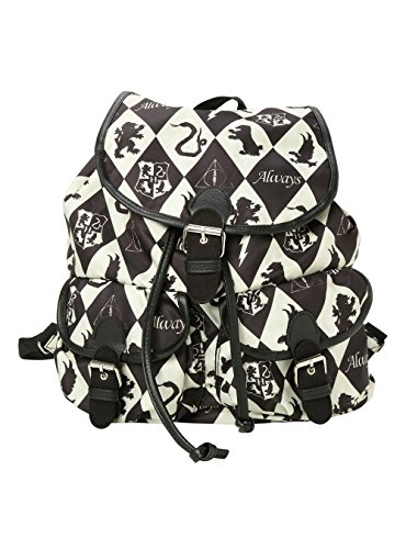 Harry Potter Crest and Symbols Slouch Backpack
