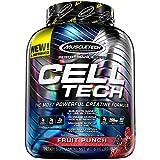 MuscleTech Cell Tech, Hardgainer Creatine Formula, Fruit Punch, 5.95 lbs (2.70kg)