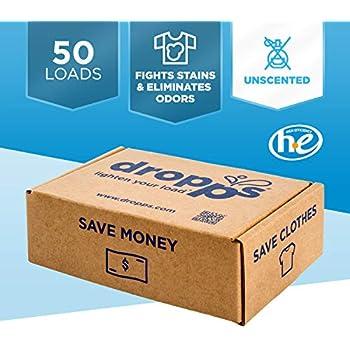 Amazon.com: Dropps Box Baby Laundry Detergent Pacs, 32