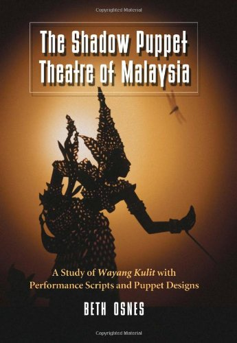 The Shadow Puppet Theatre of Malaysia: A Study of Wayang for sale  Delivered anywhere in USA