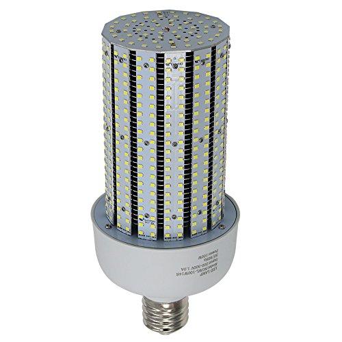 480Volt LED Corn Cob Bulb 100W Replace 400W Dusk to Dawn Security Yard Light E39 Mogul Base 6000K Daylight ()