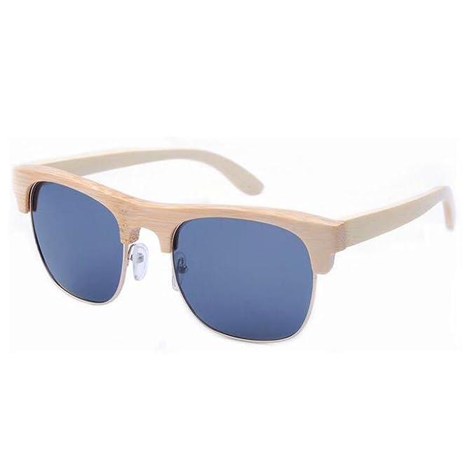 Moda Madera Gafas De Sol Polarizadas 4 Colores,A-L