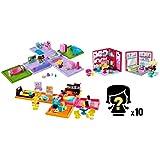My Mini MixieQ's Bundle - Mini Rooms, Playsets, and Figures