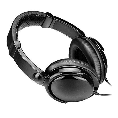 XHKCYOEJ Headset Stereo Headset/Headphones/Headphones/Anchors/K/Wired,Black: Amazon.co.uk: Electronics