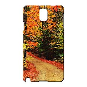 samsung note 3 case Hard New Fashion Cases phone covers the autumn scenic scene