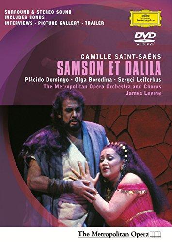 Saint-Saens - Samson et Dalila / Domingo, Borodina, Leiferkus, Fink, Levine, Metropolitan Opera Samson Et Dalila Saint Saens