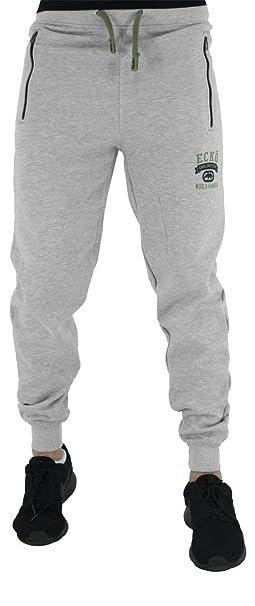 Ecko Hip Hop de Hombres Niños Estrella Ropa Deportiva Jogging Pantalones  Joggers Gimnasio Pantalones - Gris 94dea8d0e25
