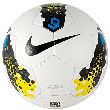 Nike Rolinho Premier Pro Small-Sided balón de fútbol, Color Blanco ...