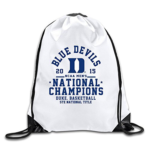BOoottty Duke Blue Devils 2015 Basketball Champions Drawstring Backpack Bag