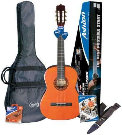 Ashton SPCG34AM Guitarra clásica - color natural: Amazon.es ...
