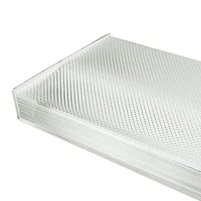 Prismatic Wraparound Lens For 4 ft. Fluorescent High Bay Fixture PLT 1LT1 CUSTOM