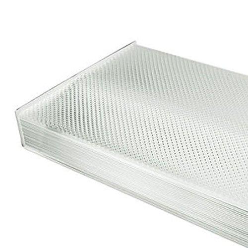 Prismatic Wraparound Lens For 4 ft. Fluorescent High Bay Fixture PLT 1LT1 CUSTOM - Fluorescent Light Fixture Lens