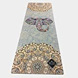 HLM- Yoga Mat Natural Rubber Sports Mat Colorful Elephant Rubber Non-Slip Soft Comfortable Yoga Mat Printing Yoga Mat Fitness Mat