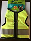 Kitty Holster Reflective Safety Harness M/L Neon Yellow
