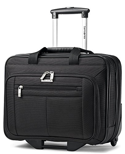Overnighter Brief Bag (Samsonite 15.6-Inch Classic Business Wheeled Business Case (43876-1041))