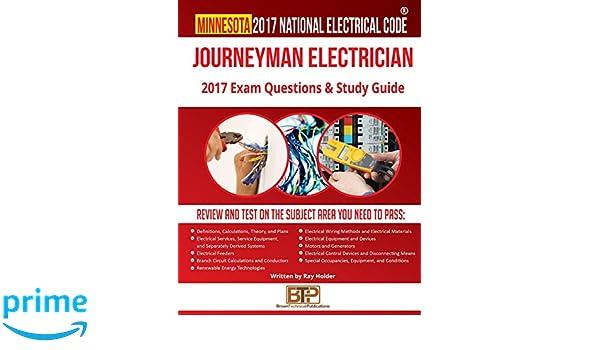 Minnesota 2017 Journeyman Electrician Study Guide: Ray Holder, Brown ...
