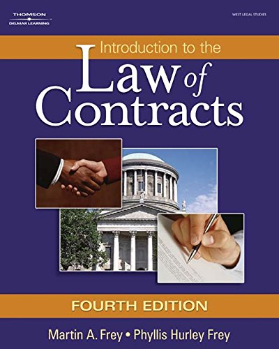 Introduction to the Law of Contracts (Hardcover)