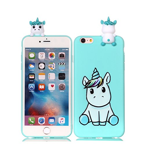 size 40 a1f80 96136 DAMONDY iPhone 6 Case Case,iPhone 6S Case, 3D Cartoon Cute Animals Pattern  Soft Gel Silicone Slim Design Rubber Thin Protective Cover Phone Case for  ...