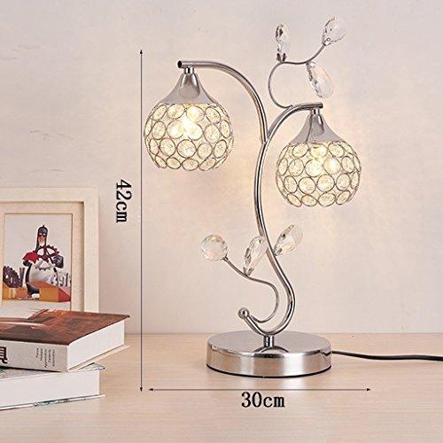 MOMO Led Kreative Kristall Tischlampe Dekoration Schlafzimmer Nachttischlampe Schreibtischlampe Luxus Kristall Licht by MOMO (Image #2)