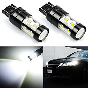 JDM ASTAR Extremely Bright Max 50W High Power 7440 7441 7443 7444 992 LED Bulbs ,Xenon White