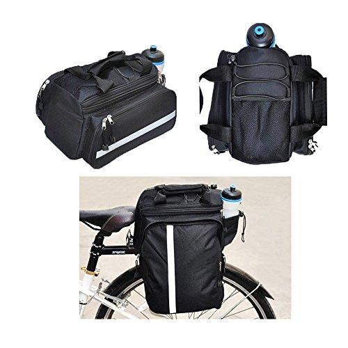 Generic Multifunktions-Fahrrad-Zubehör-Heckkoffer-Tasche Outdoor-Radsport-Rack-Tasche Schultertasche
