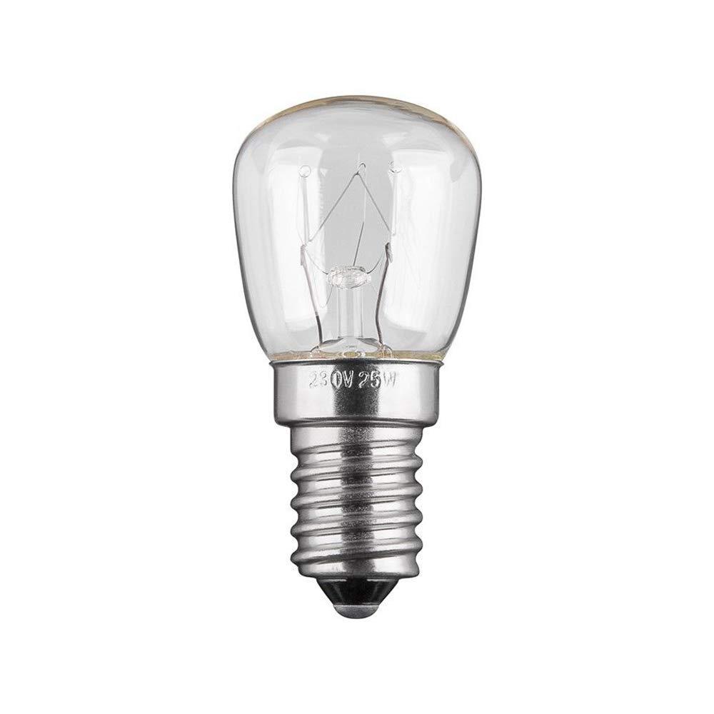 Forno Lampada 2 pezzi Lampada e14 300 ° 15w chiaro Frigorifero Lampada Lampadina