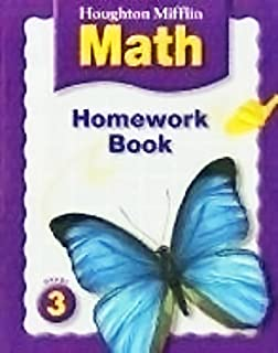 Worksheets Houghton Mifflin Math Worksheets Grade 3 houghton mifflin math practice workbook grade 3 homework book consumable 3