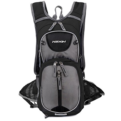 HEXIN Biking Backpack to Load 1.5L Backpack Water Bladder Hydration Pack Durable&Lightweight