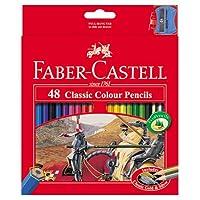 Faber Castell Premium Lápices de colores, 48 colores