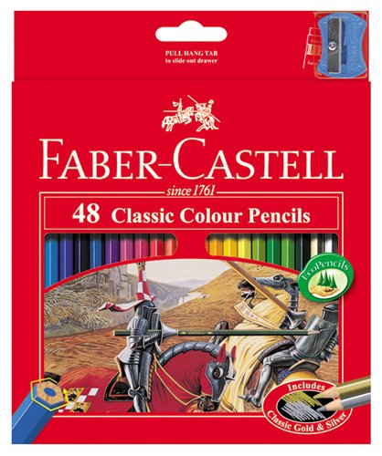 Faber Castell Premium Color Pencils, 48 Colour by Faber Castell