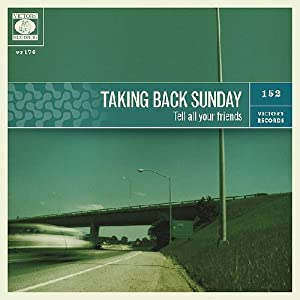 Taking Back Sunday Tell All Your Friends Vinyl