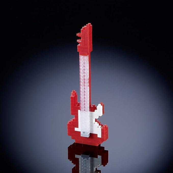 Brixies 410120 - Guitarra eléctrica, Rompecabezas 3D, Instrumentos ...