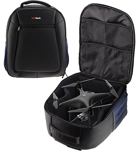Navitech Rugged Black Carry Backpack / Rucksack / Case For TheGoolRC T5G FPV Drone